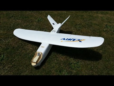 X-UAV Mini Talon PNP setup and maiden flight (courtesy Banggood)