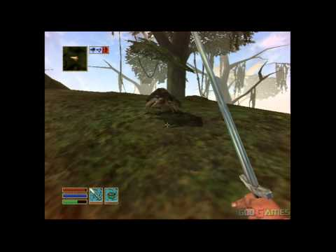 The Elder Scrolls III Morrowind GOTY - Gameplay Xbox (Xbox Classic)