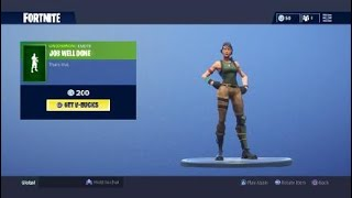 Fortnite Fancy Feet Tous les skins