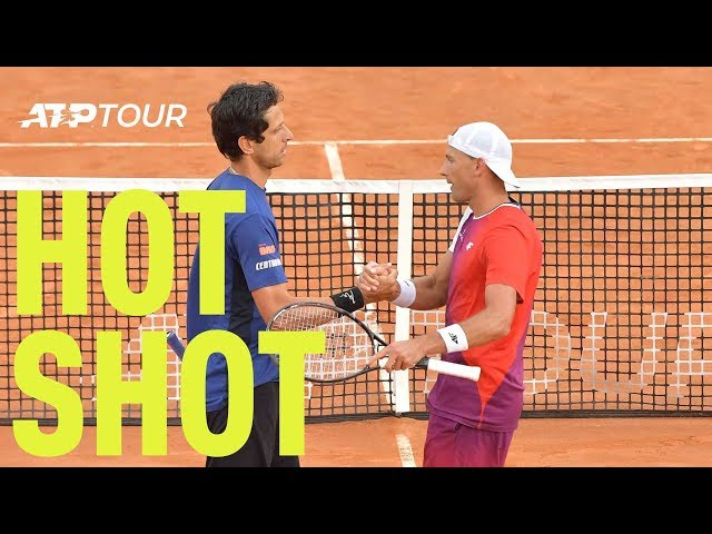 Hot Shot: Melo Magnificent In Thrilling Doubles Point | Rome 2019