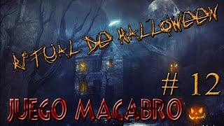 RITUAL DE HALLOWEEN JUEGO MACABRO 12