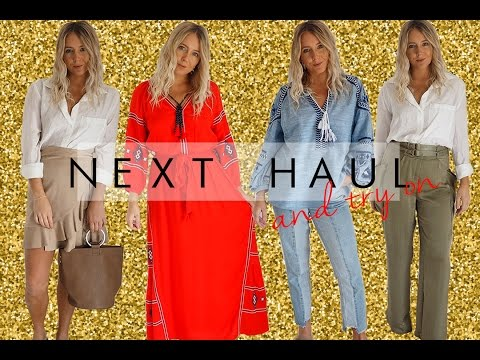 NEXT CLOTHING HAUL AND TRY ON | PETITE SIDE OF STYLE | 2017