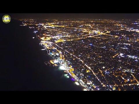 Royal Jordanian Airbus A321: Beautiful Tel Aviv Night Landing! [AirClips]