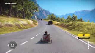 Just Cause 3 Easter Eggs - Soap Box Racer