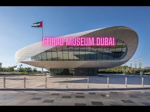 Etihad Museum Dubai|ETIHAD MUSEUM|DUBAI|UAE|HISTORY