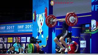 Raluca-Andreea Olaru (53) - 81kg Snatch 2017 Youth Worlds