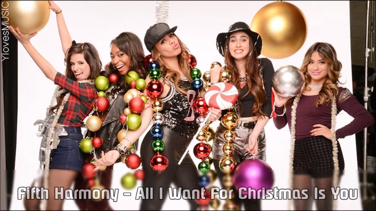 Fifth Harmony - All I Want For Christmas Is You (Lyrics) - YouTube