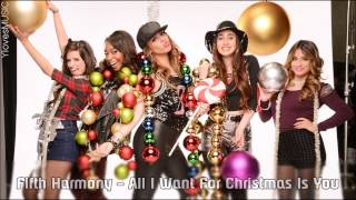 Fifth Harmony - All I Want For Christmas Is You (Lyrics)