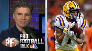 Ja'Marr Chase makes smart move leaving LSU early for NFL | Pro Football Talk | NBC Sports