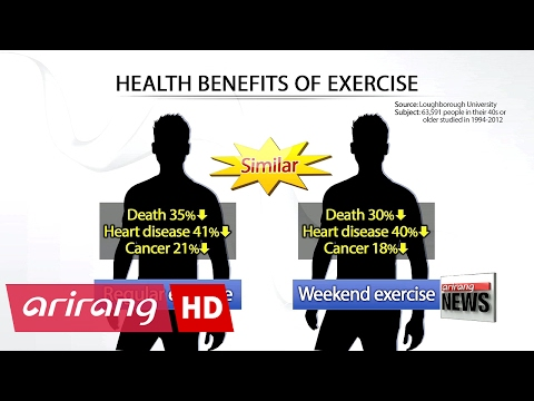 Weekend workouts almost as beneficial as regular exercise: study