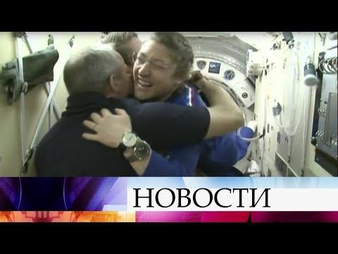 Запуск пилотируемого корабля «Союз» прошел в штатном режиме, международный экипаж уже на МКС.