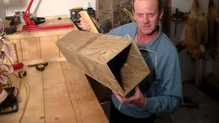 Изготовление ящика для ловли куницы! Канада