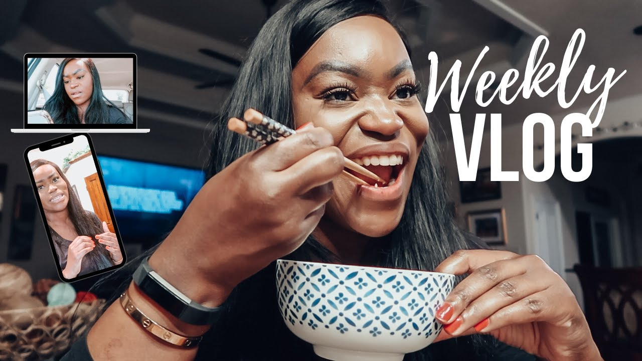 VLOG: A WEEK IN MY LIFE | SHOPPING AT A KOREAN GROCERY STORES + THE BEST SHRIMP FRIED RICE RECIPE