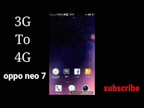 cara mengubah sinyal 3G ke 4G  oppo neo 7 work 100% | no hoax