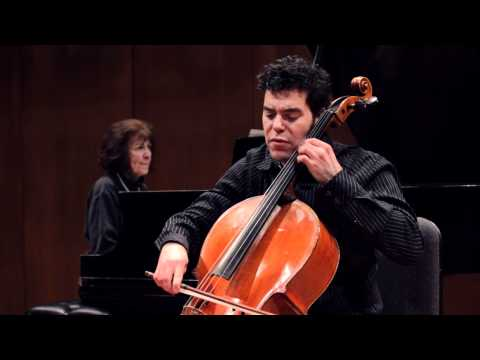 Michael Samis, cello - Ginastera, Pampeana #2