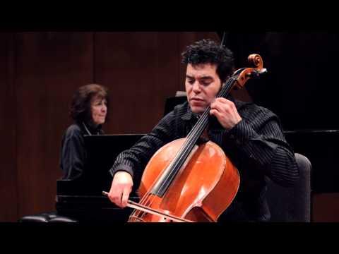 Michael Samis, cello - Ginastera, Pampeana #2