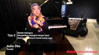 Belajar Vokal : Melatih power dalam bernyanyi - Aulia Dita