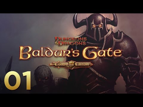 Baldur's Gate: Enhanced Edition - Episode 01 - Wizard Slaying Halfling