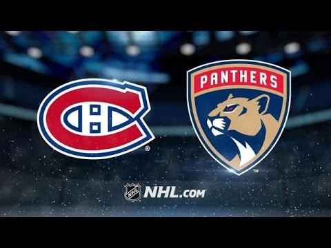 Montreal Canadiens vs Florida Panthers NHL Game Recap
