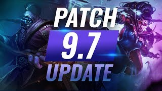 NEW UPDATE: Best Champions TIER LIST - League of Legends Patch 9.7