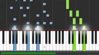 Hannah Montana - Wherever I Go (piano tutorial)