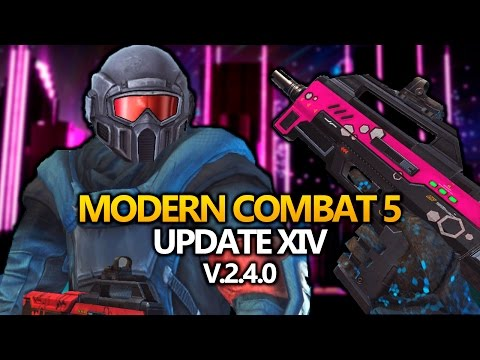 REVIEW Modern Combat 5 UPDATE 14 v2.4.0