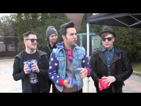 Fall Out Boy Plays Cornhole!
