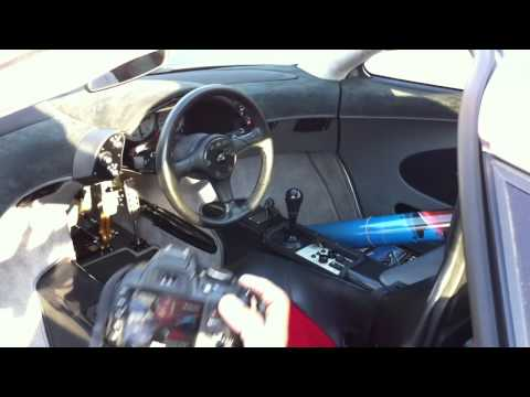 McLaren F1 LM startup rev driving off delivery truck HD