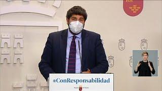Murcia retrasa el inicio del toque de queda a la medianoche