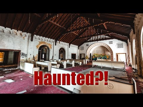 Haunted!? Abandoned Funeral Home Built 1929 Part 2.