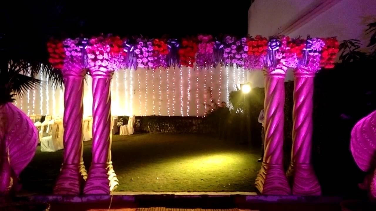 Decoration of wedding hotel golden tulip youtube decoration of wedding hotel golden tulip junglespirit Image collections