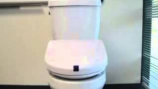 Touchless Sensor Toilet Seats