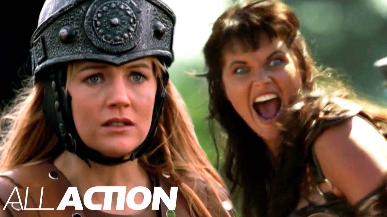 Download Xena and Gabrielle Fight The Romans | Xena: Warrior Princess | All Action