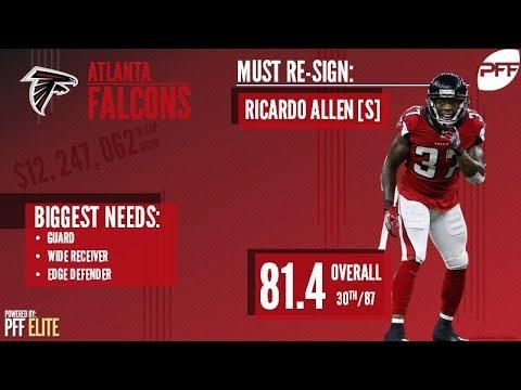 Atlanta Falcons Offseason Moves | Pro Football Focus