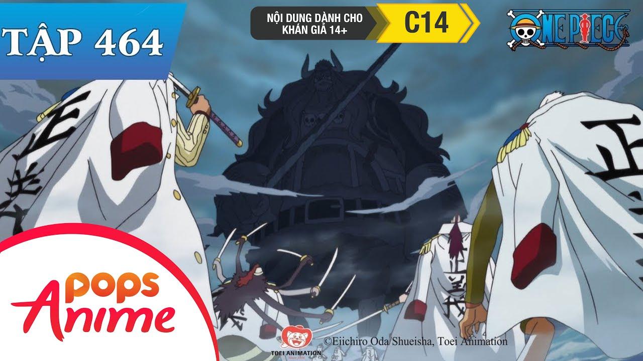 One Piece Tập 464 – Hậu Duệ Của Ma Nhân! Little Oars Jr Tiến Công! – Đảo Hải Tặc