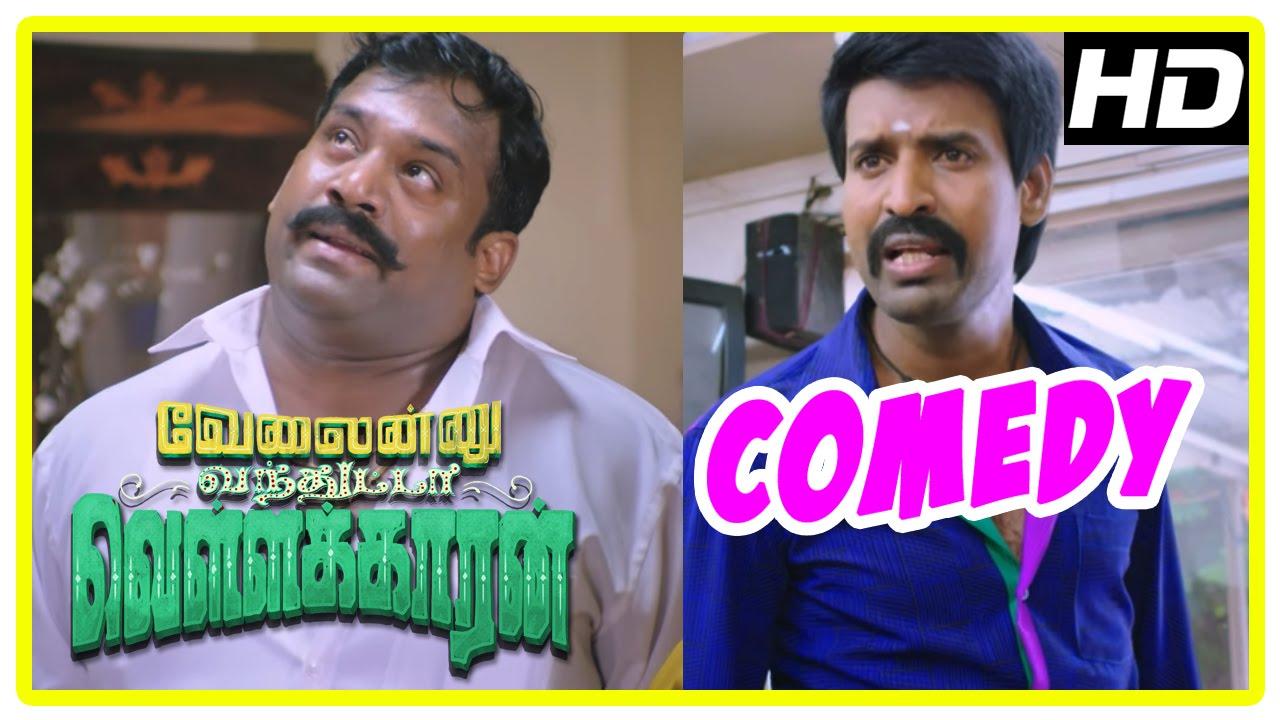 Download Velainu Vandhutta Vellaikaaran Comedy Scenes | Full Comedy 1 | Soori | Robo Shankar | Vishnu Vishal