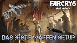 Far Cry 5 |  Das beste Waffen Setup zum Durchstarten | AK-MS | SPAS 12 | SMG 11 | CompoundBogen