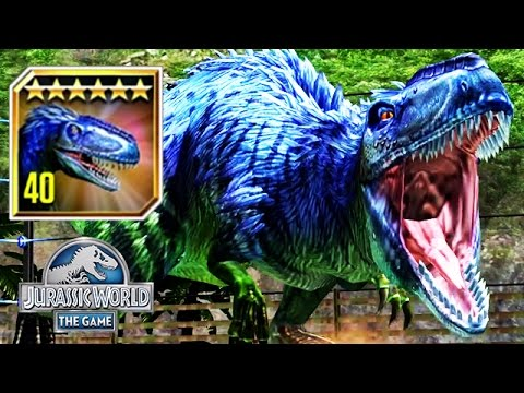 Jurassic World - Max Level 40 Limited Edition Yutyrannus