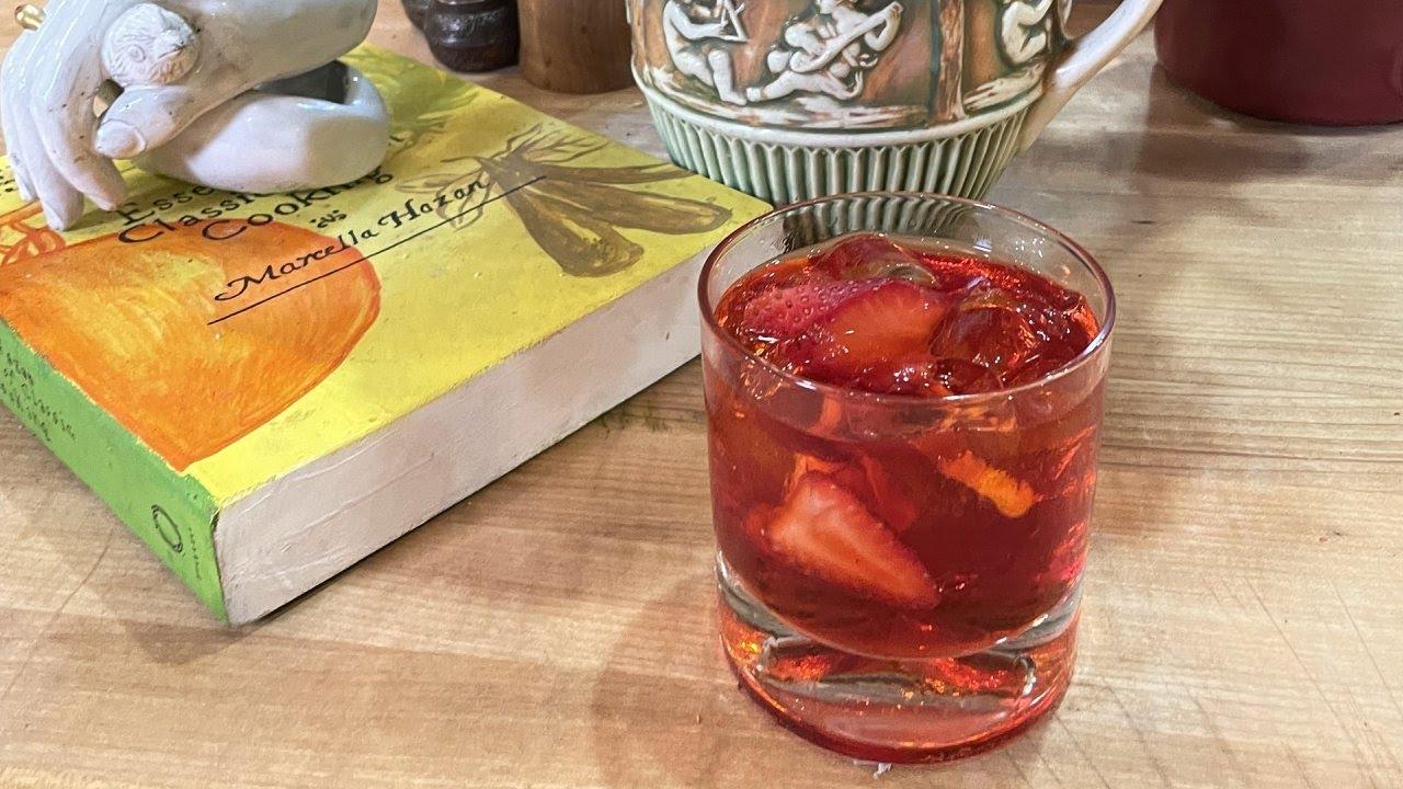 How to Make a Strawberry Negroni   John Cusimano