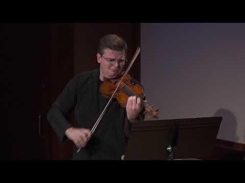 "Brahms: Scherzo, WoO 2, from ""F-A-E"" Sonata for Violin and Piano"