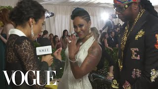 2 Chainz on Proposing to His Girlfriend at the Met Gala | Met Gala 2018 With Liza Koshy | Vogue
