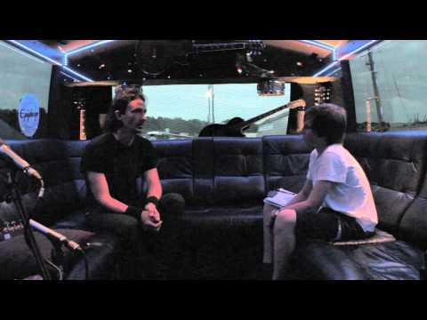 Gojira Interview w/ EQPTV | Joe Duplantier | Bloodstock 2013