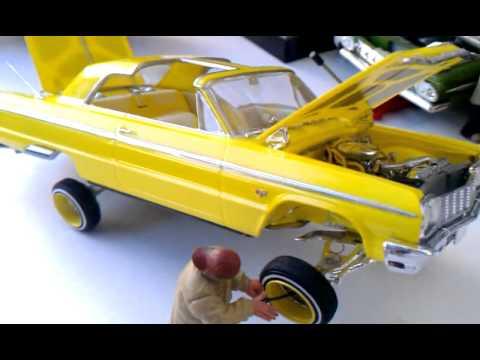 lowrider model cars