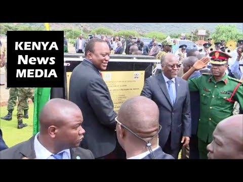 NAMANGA BORDER POST for Kenya and Tanzania Opened by President Uhuru and Magufuli!!!