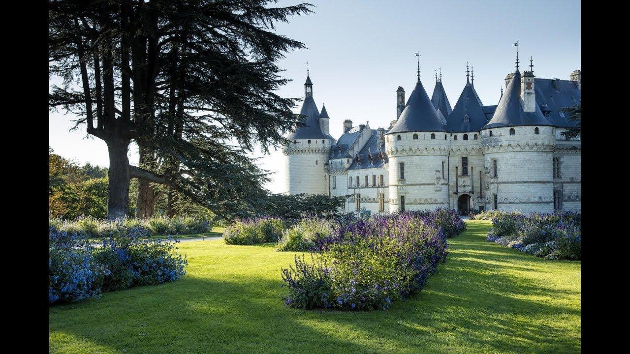 Les Jardins De Chaumont Sur Loire Youtube