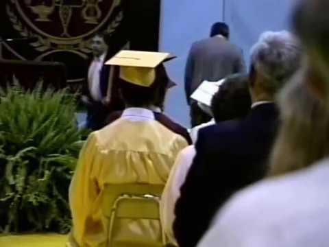 Sesser Valier High School Graduation 1989