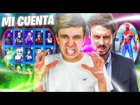 El TRABAJADOR de EPIC GAMES me ROBA la CUENTA de Fortnite...😡
