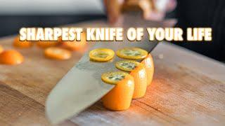 Sharpen Your Kitchen Knife Like A Master Sharpener
