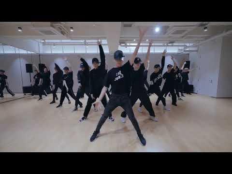 [mirrored & 50% Slowed] NCT 2018 - BLACK ON BLACK Dance Practice Video