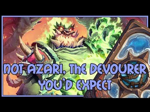 Hearthstone: Not Azari, the devourer you'd expect (demonlock)